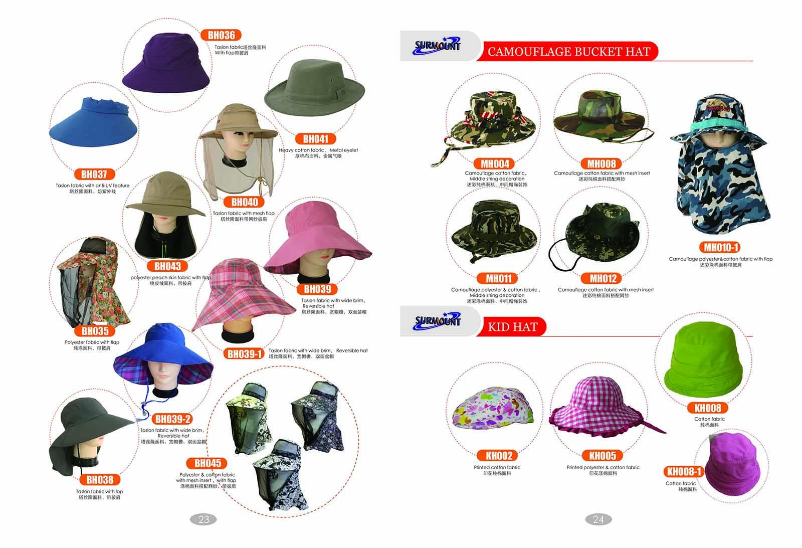 Bucket Hats (2)