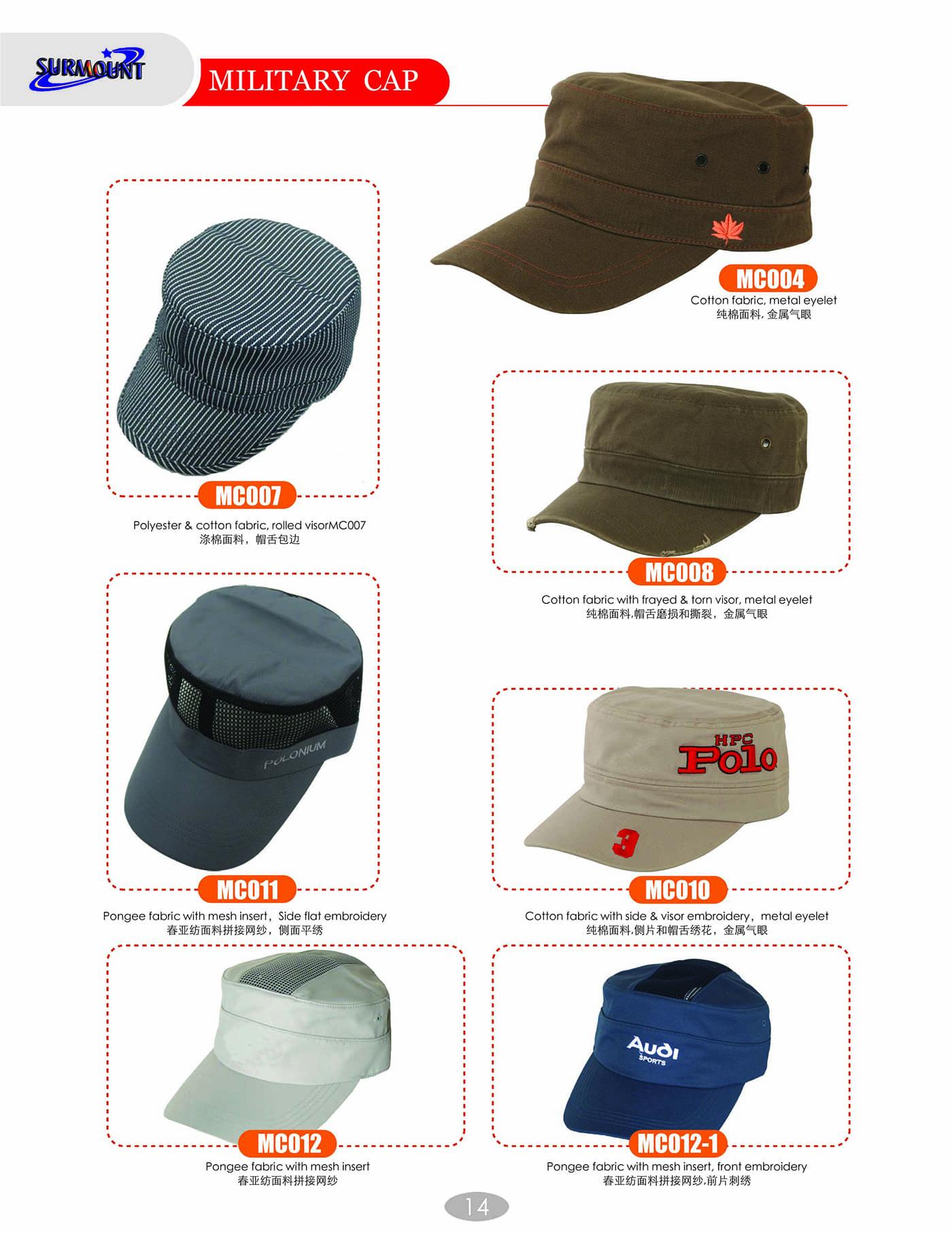 Military Caps (2)